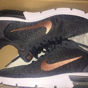 9e3b9bc13b0ed8 Nike Shoes - NIB Nike Air Max Sequent 2 black   rose gold RARE!